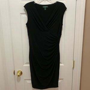 Petite Lauren Ralph Lauren Wrap Dress